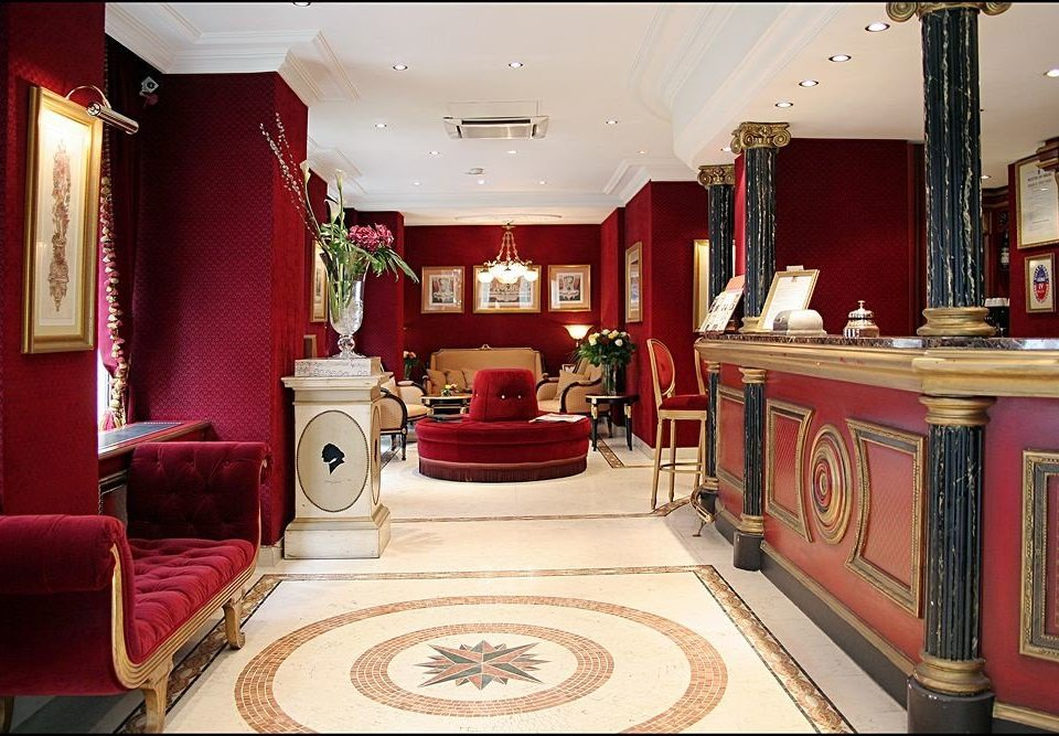 red property Lobby Suite mansion