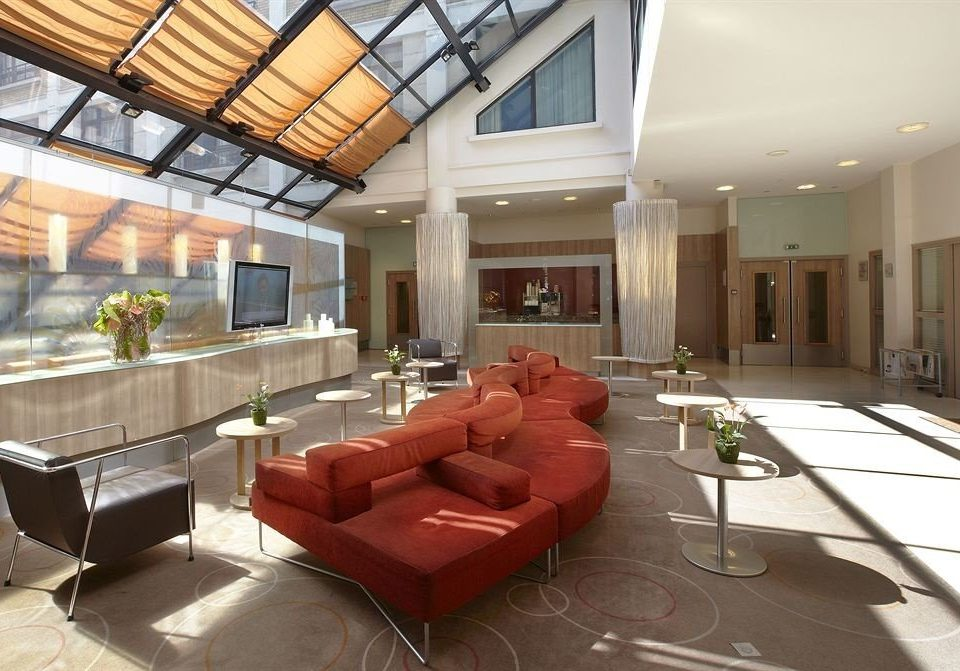 Lobby property building living room home condominium Suite convention center mansion Villa leather