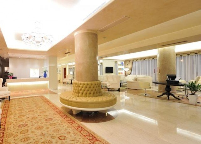 Lobby property building home mansion flooring Villa living room condominium Suite convention center
