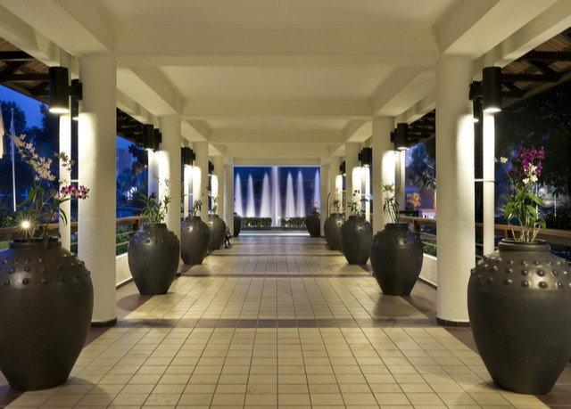 Lobby tile tiled
