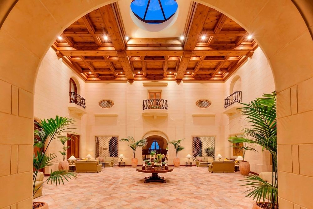 property Lobby home hacienda mansion plant Villa living room chapel arch