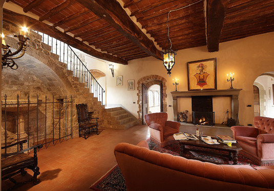 property building living room home Lobby hacienda mansion Villa stone