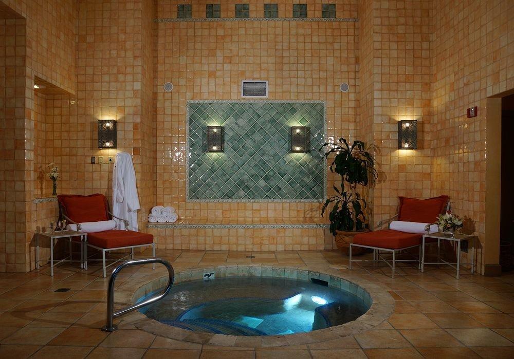 swimming pool property chair jacuzzi Lobby mansion hacienda flooring Villa tiled tile