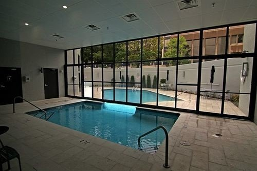 swimming pool property leisure centre condominium mansion Lobby Villa empty tiled