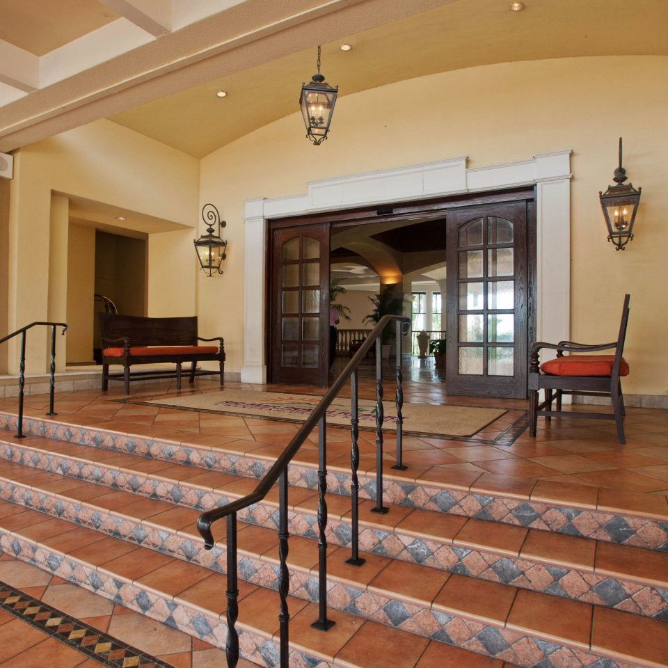property hardwood Lobby home flooring wood flooring mansion hall Villa living room stair