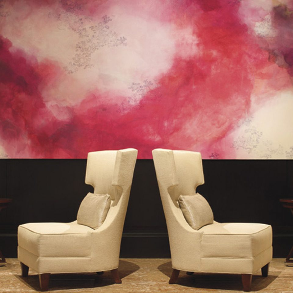 Lounge Luxury color modern art wallpaper painting