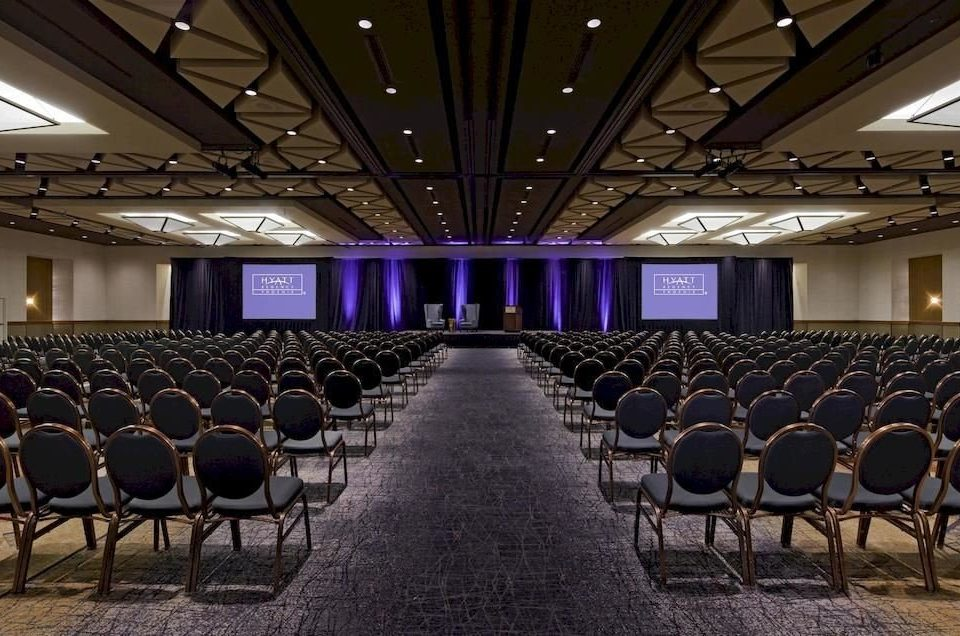 Lounge Luxury Modern ground auditorium row conference hall function hall lined stage line audience convention center convention theatre ballroom long empty