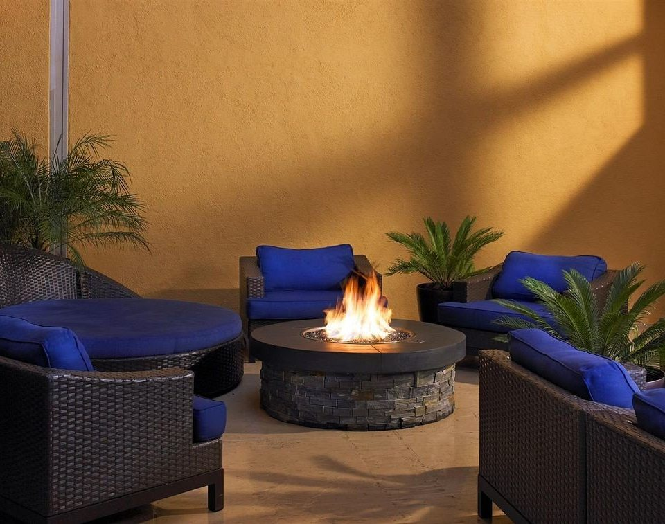 Lounge Luxury Modern blue plant swimming pool living room lighting backyard colorful