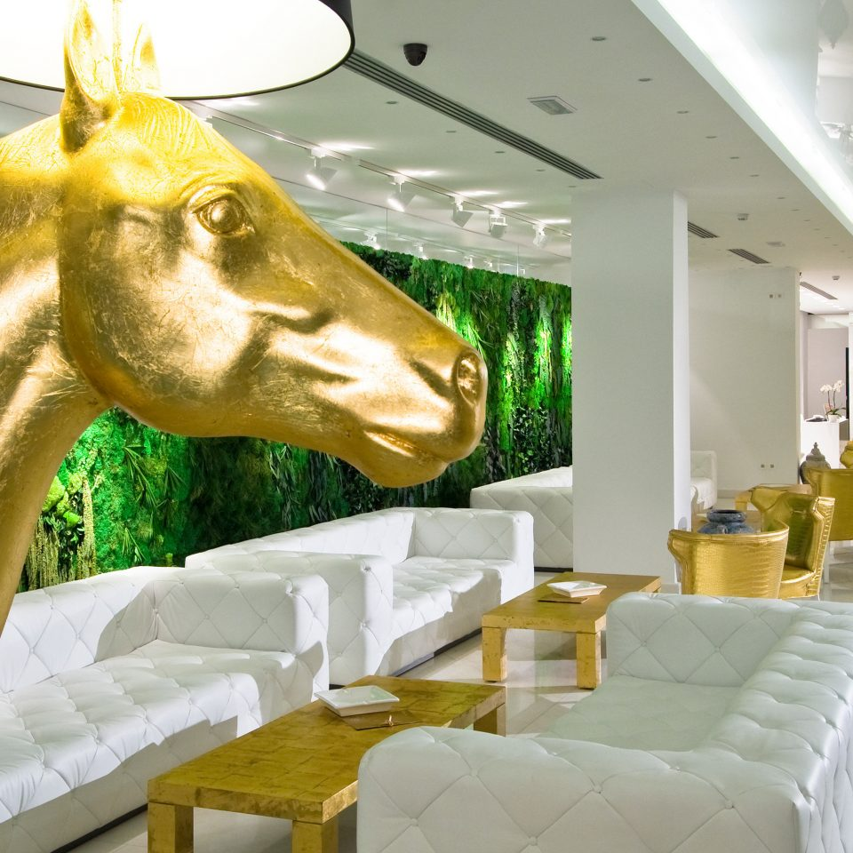 Lounge Luxury Modern restaurant colored