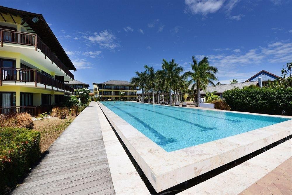 Lounge Luxury Modern Pool Resort sky ground swimming pool property building leisure walkway Villa condominium mansion sign