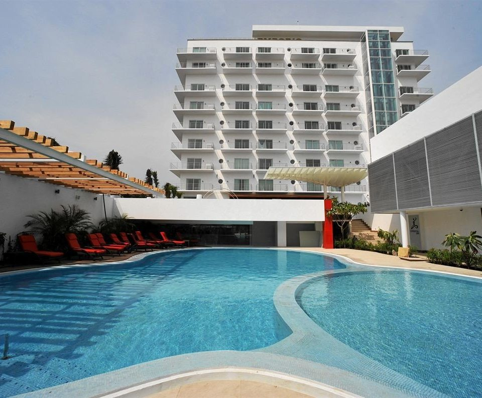 Lounge Luxury Modern Pool building swimming pool property condominium leisure Resort Villa swimming
