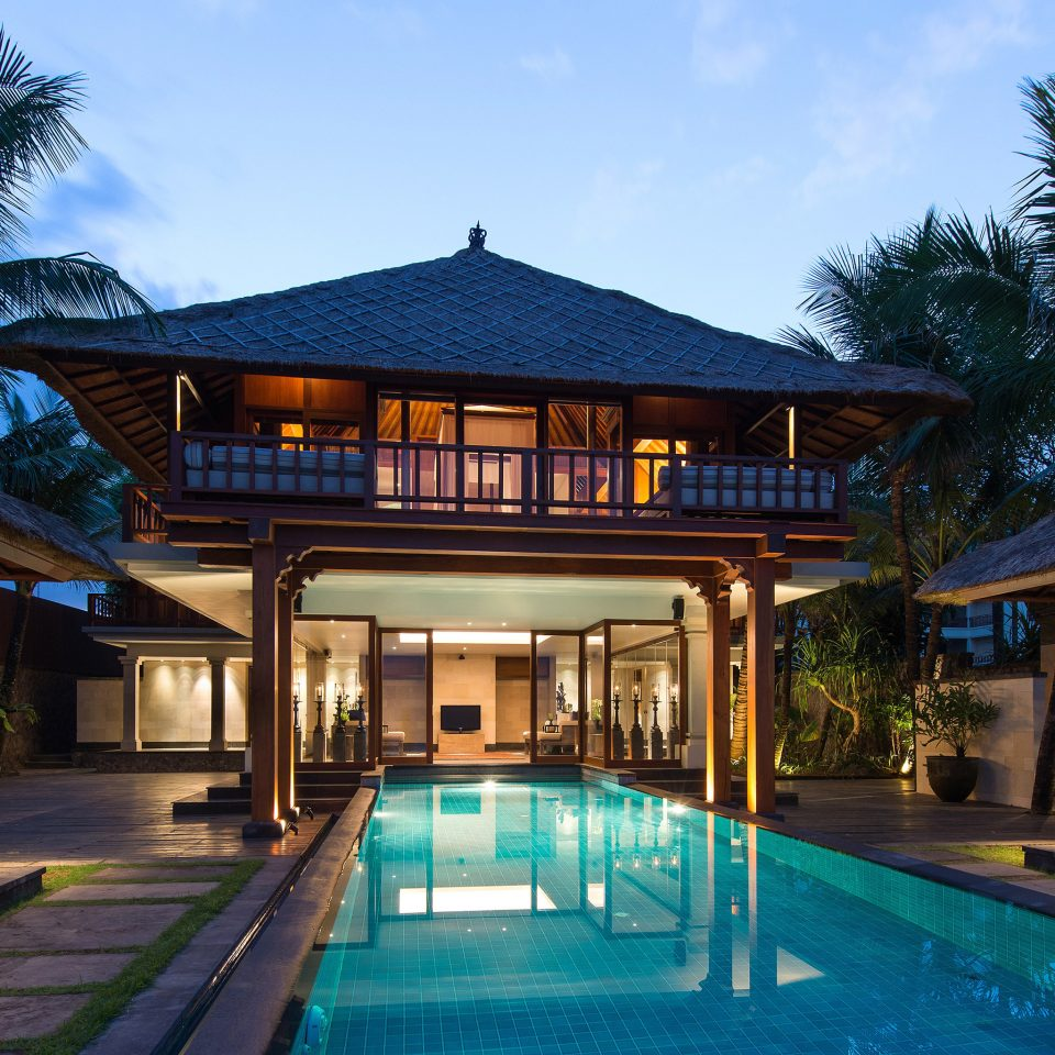 Lounge Luxury Modern Pool tree Resort leisure property swimming pool building house home mansion resort town Villa eco hotel