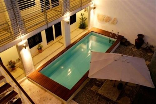 Lounge Luxury Modern Pool swimming pool property jacuzzi Villa cottage Suite