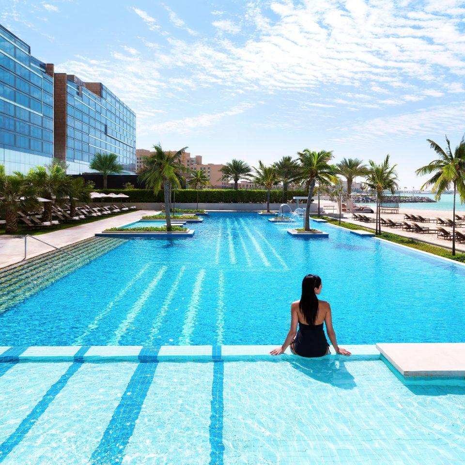 Lounge Luxury Modern Pool sky leisure swimming pool property Resort leisure centre reflecting pool condominium resort town swimming