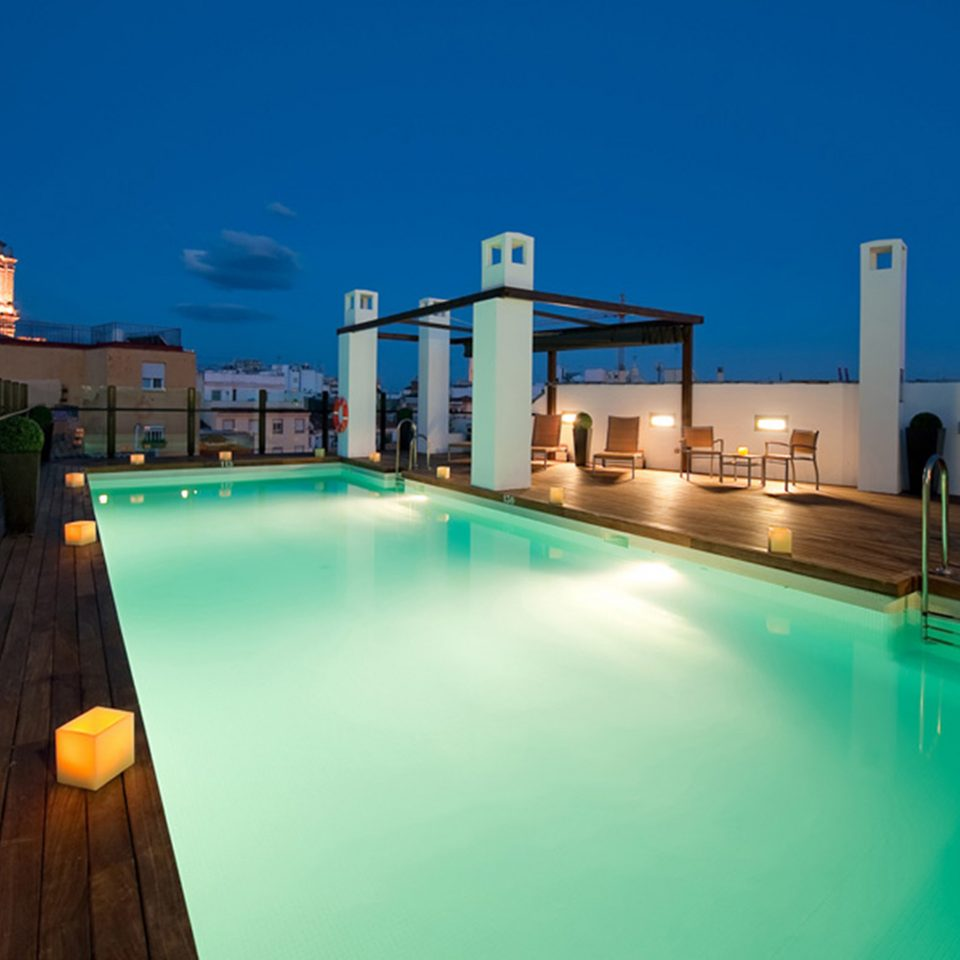 Lounge Luxury Modern Pool sky swimming pool leisure Resort Sea dock