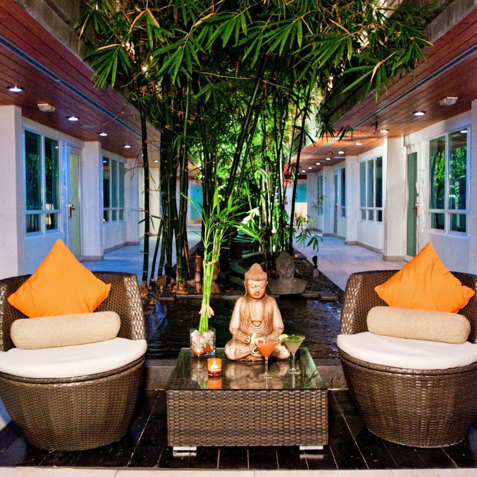 Lounge Luxury Modern property home house building Resort Villa porch cottage backyard living room outdoor structure mansion