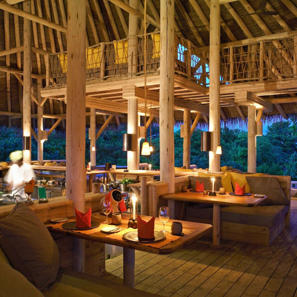 Lounge Luxury Modern Resort restaurant log cabin
