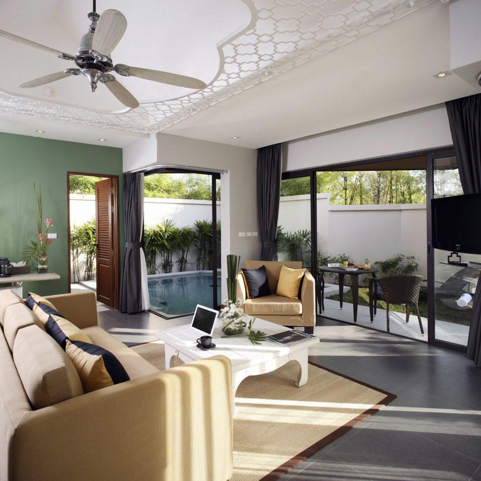 Lounge Luxury Modern Scenic views property living room condominium home daylighting loft Villa