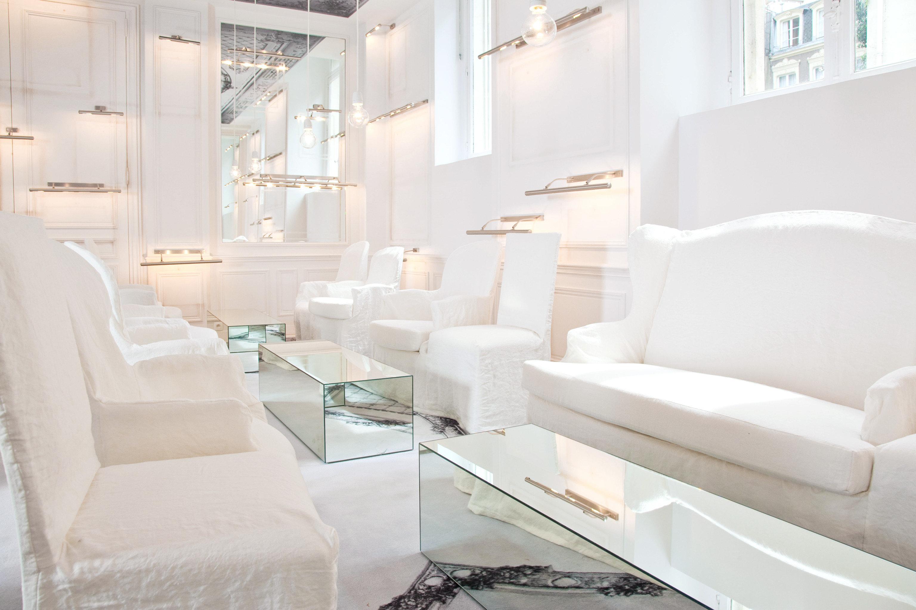 Lounge Luxury Modern property living room white condominium waiting room Suite bathtub