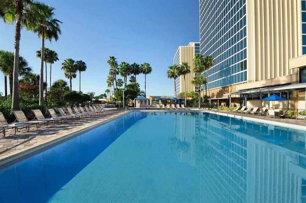 Lounge Luxury Pool sky swimming pool condominium property leisure Resort reflecting pool blue resort town