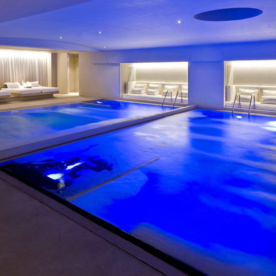 Lounge Luxury Pool Romantic swimming pool leisure centre billiard room recreation room blue Resort