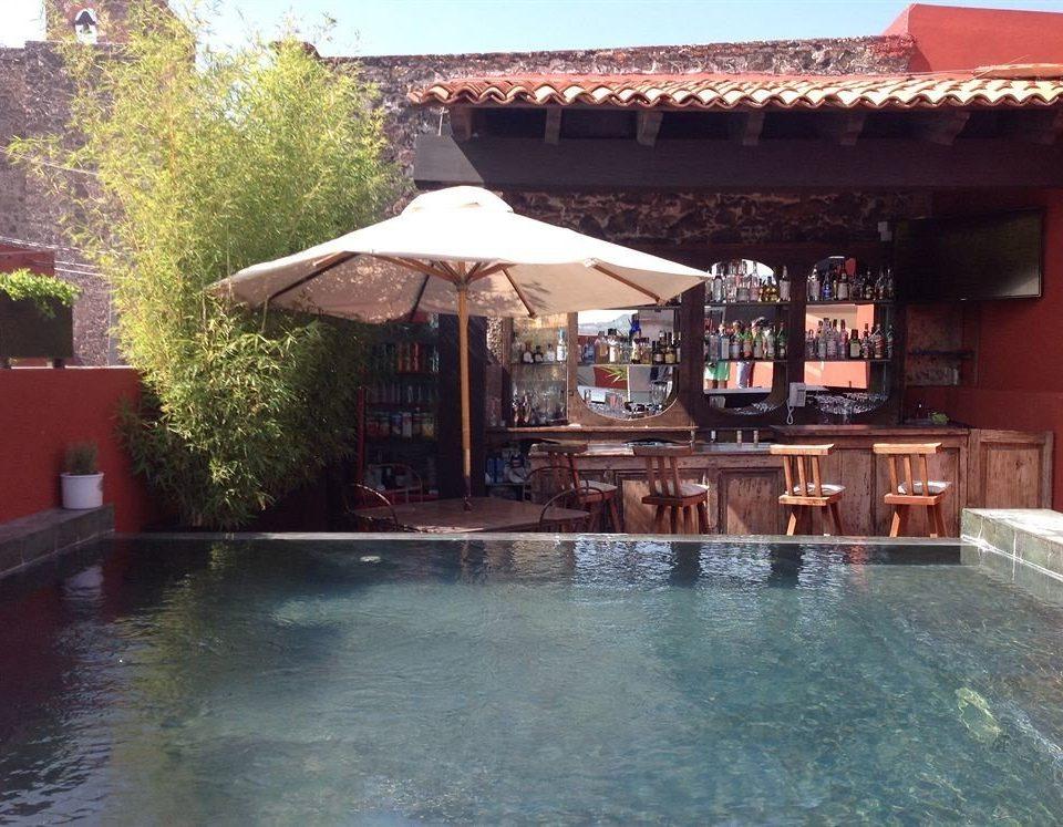 Lounge Luxury Pool Romantic building swimming pool property leisure house Resort Villa hacienda backyard