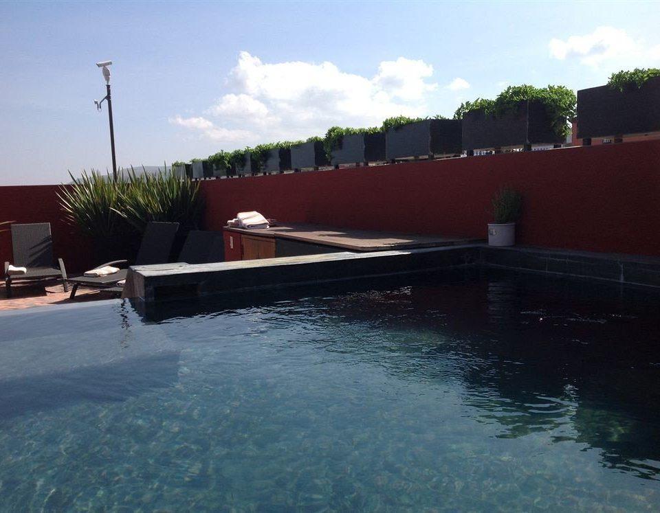 Lounge Luxury Pool Romantic sky water swimming pool vehicle waterway