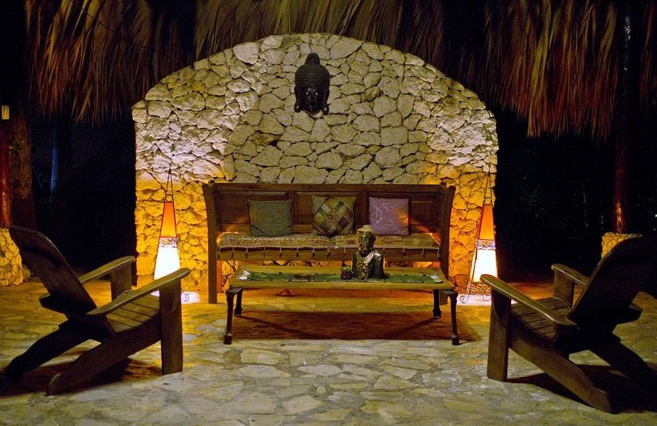 Lounge Luxury Romantic Tropical house screenshot hacienda landscape lighting