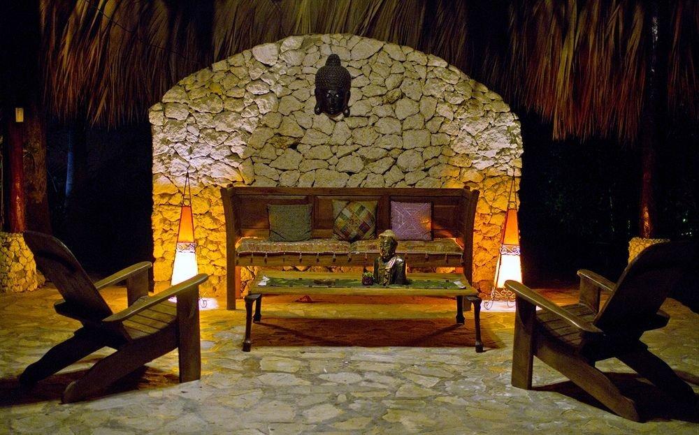 Lounge Luxury Romantic Tropical house screenshot hacienda landscape lighting