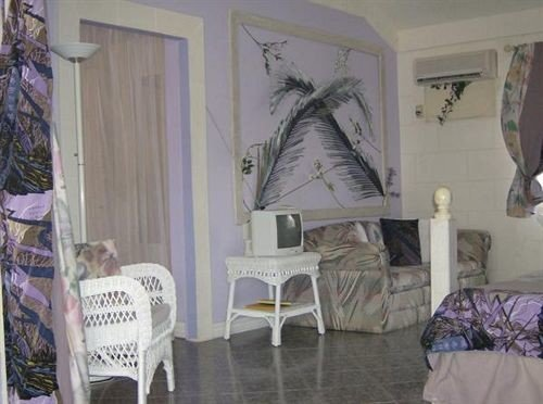 Lounge Luxury Tropical property cottage home mural