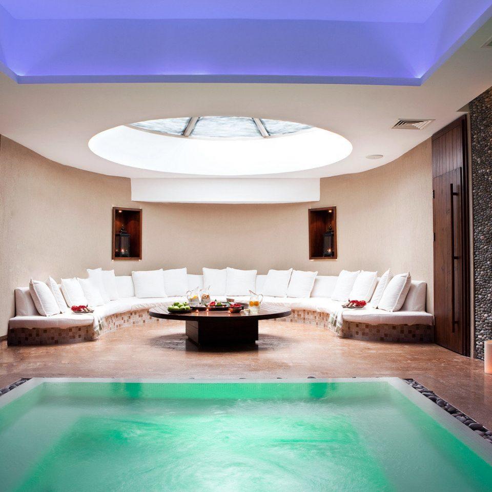 Lounge Modern Pool swimming pool property Villa jacuzzi Resort
