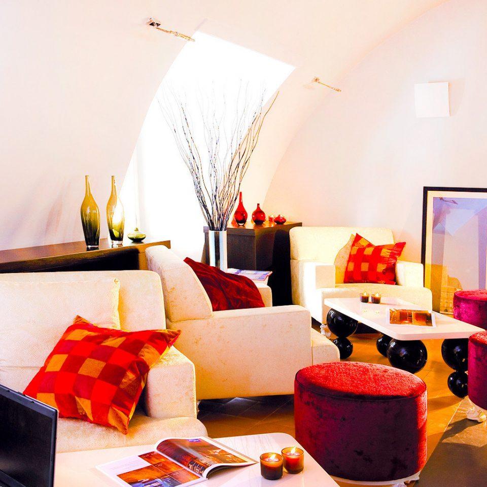 Lounge Modern Resort color red living room home Suite restaurant