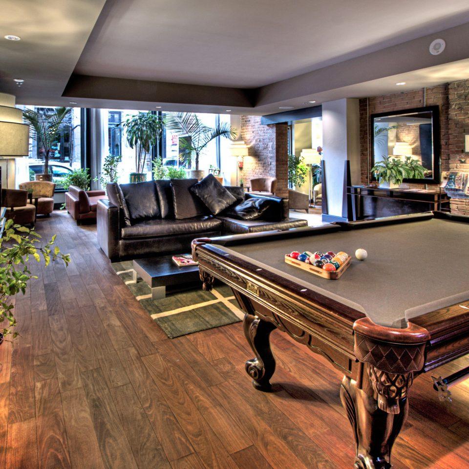 Lounge Modern recreation room billiard room property home mansion Villa living room Resort dining table