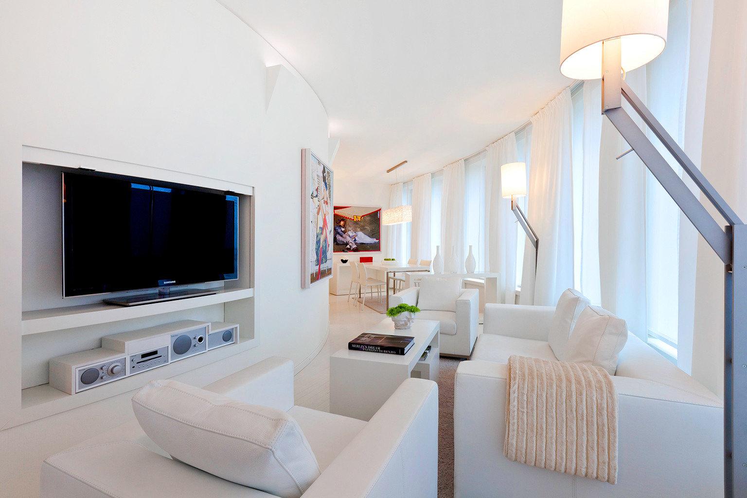 Lounge Modern property living room white home Suite condominium cottage Villa flat