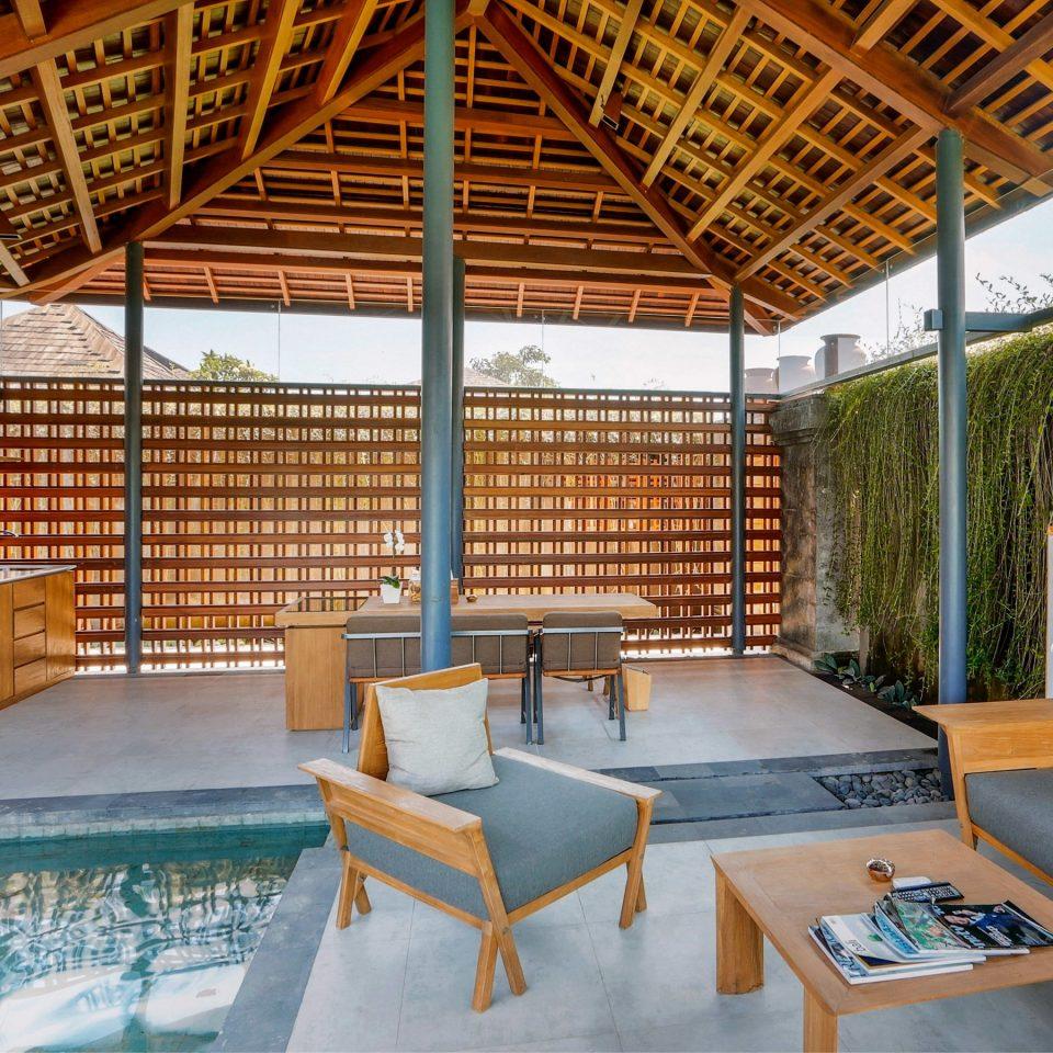 Lounge Pool Tropical property building leisure Resort swimming pool Villa eco hotel condominium