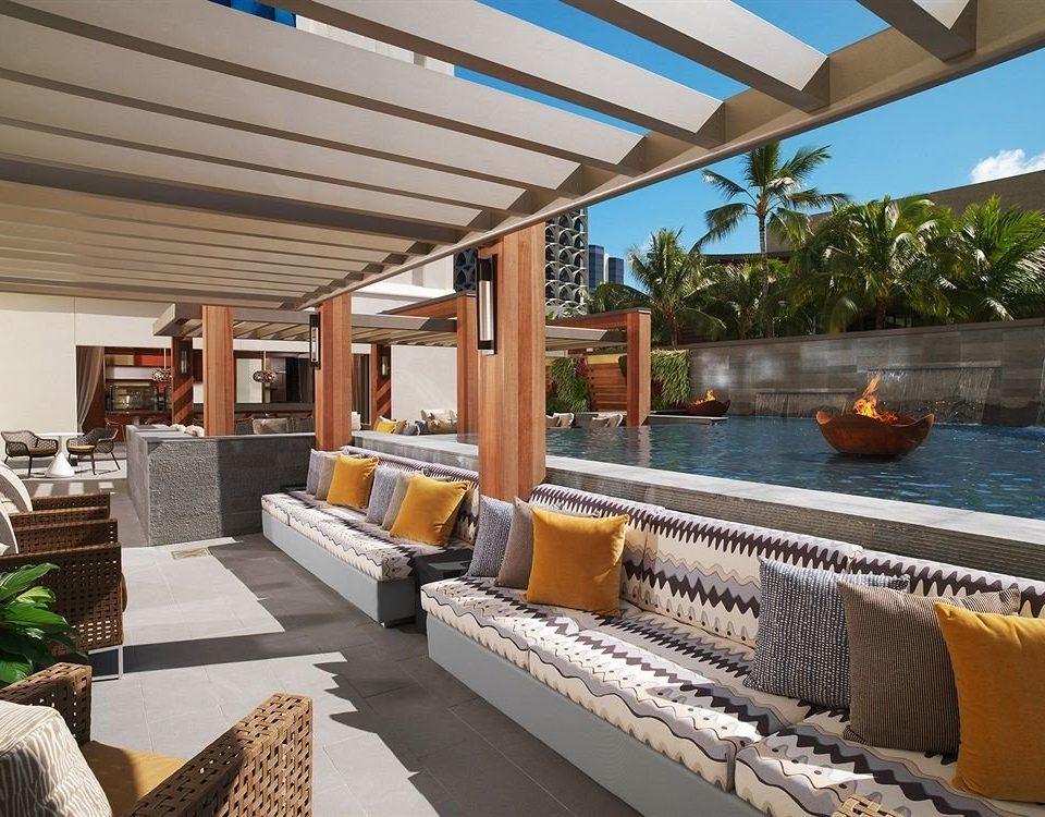 Lounge Resort property building condominium home Villa outdoor structure porch pergola swimming pool