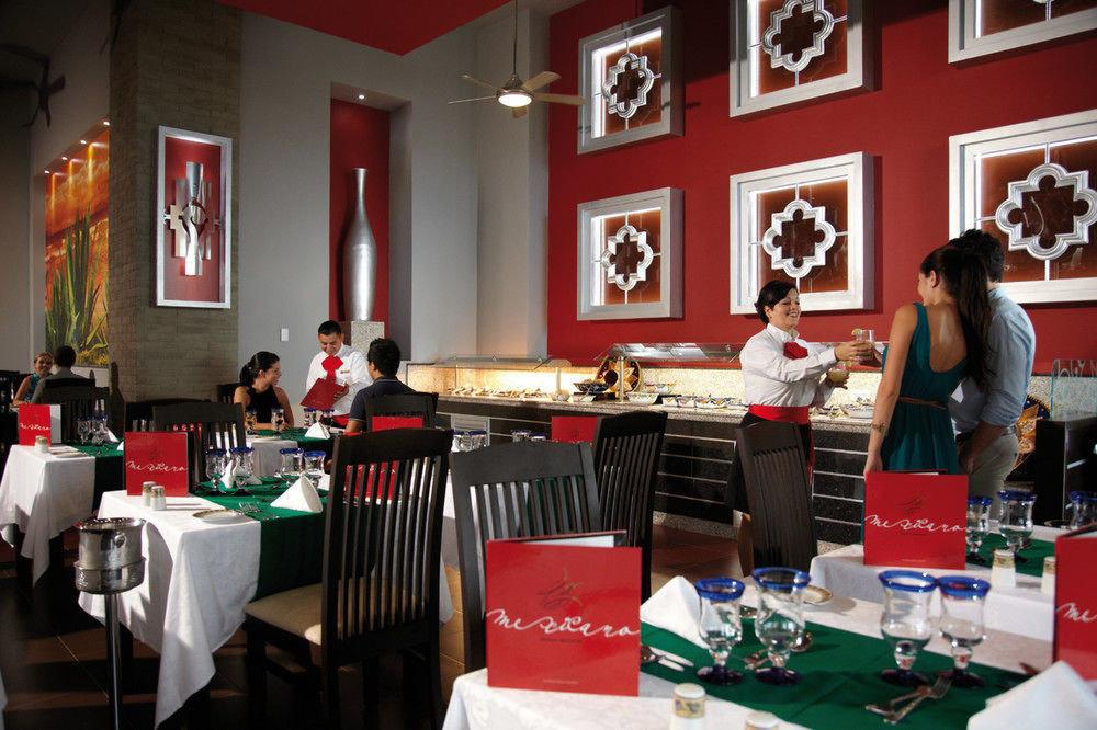red restaurant lunch sense
