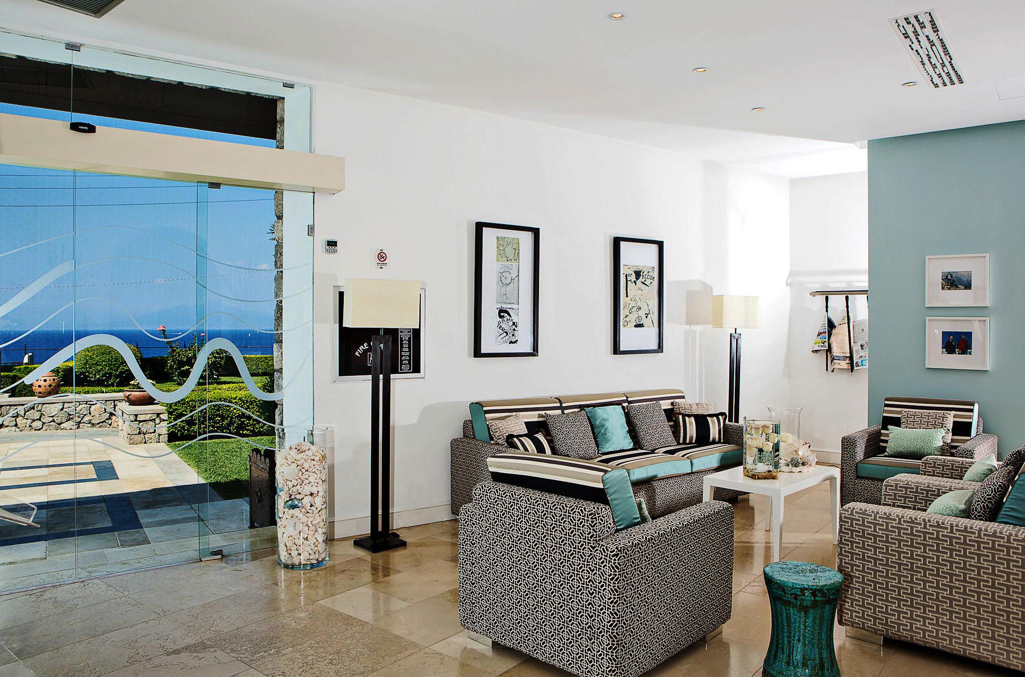 Luxury property living room home condominium