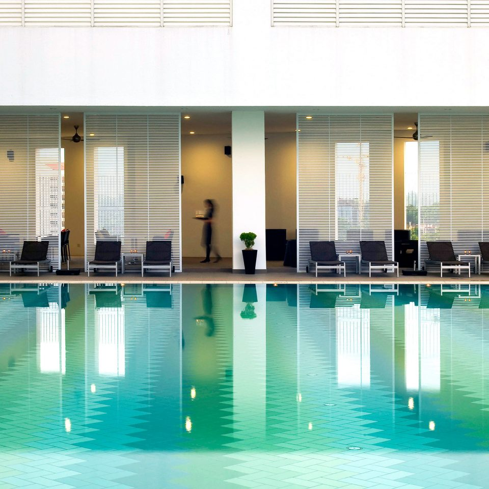 Luxury Modern Pool swimming pool leisure leisure centre condominium headquarters empty swimming
