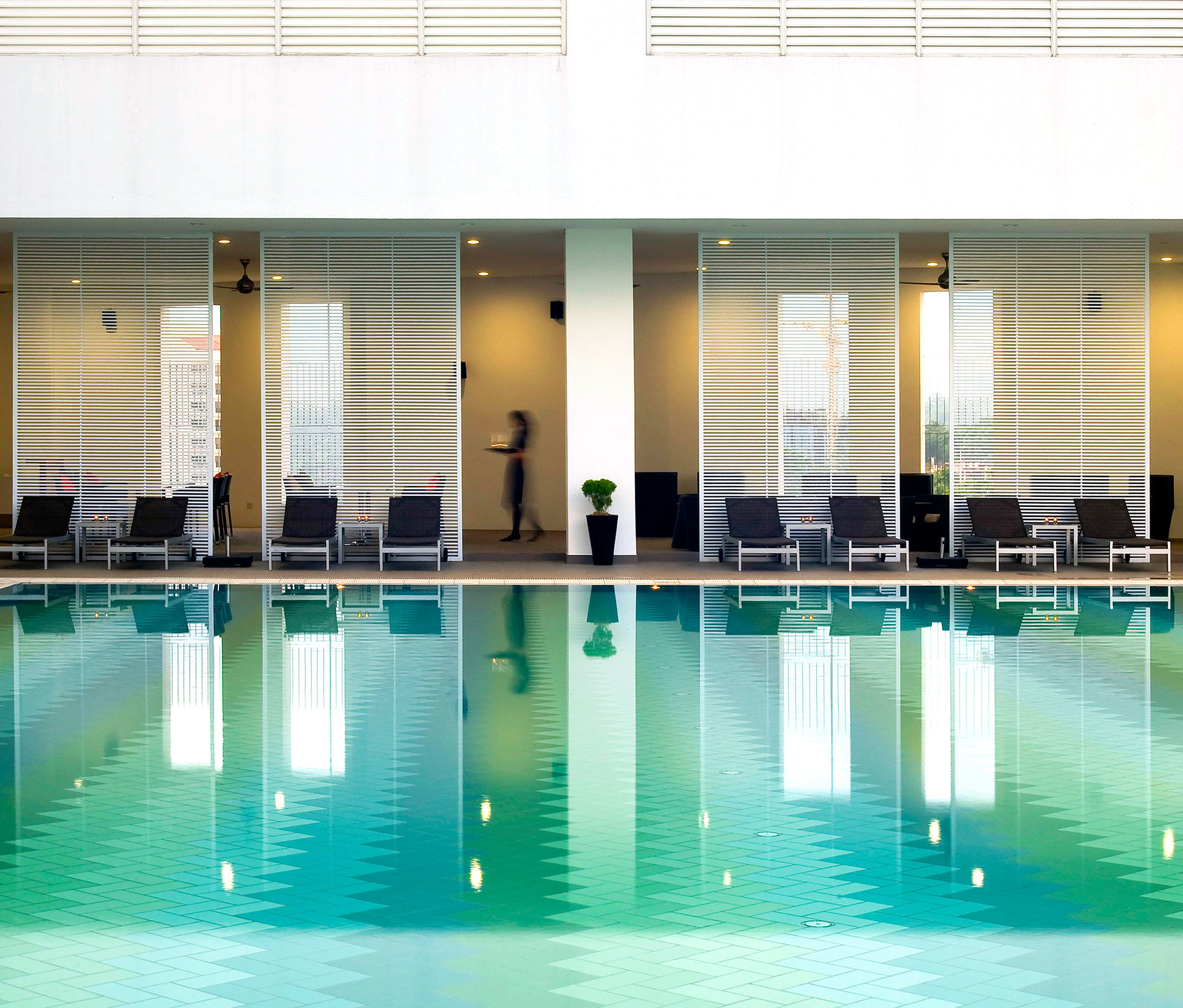 Luxury Modern Pool swimming pool leisure leisure centre condominium headquarters empty swimming