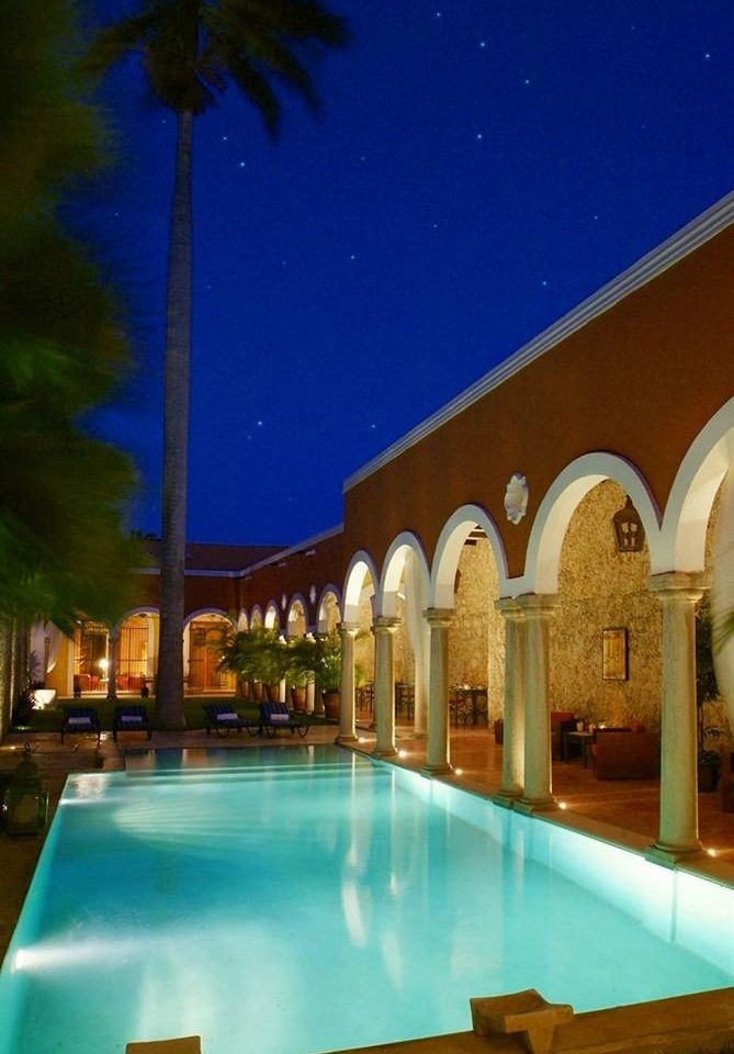 Luxury Modern Pool swimming pool property Resort mansion Villa hacienda