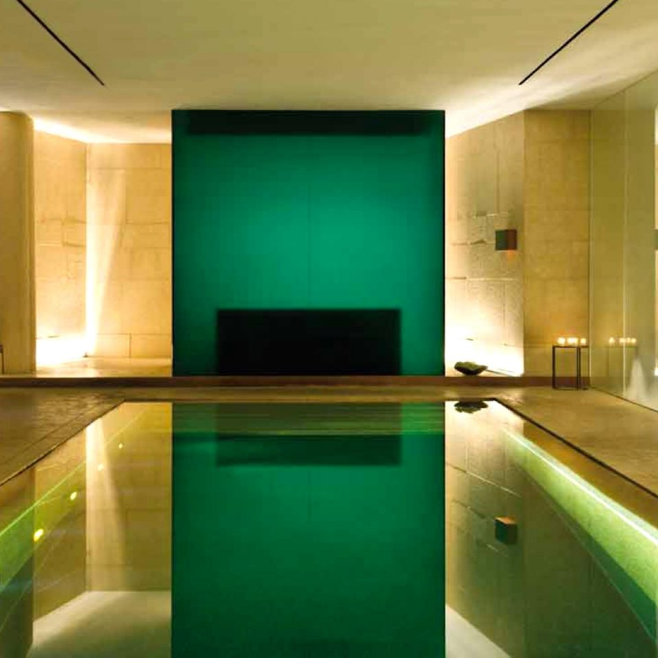 Luxury Modern Pool green swimming pool property lighting bathroom Suite bathtub