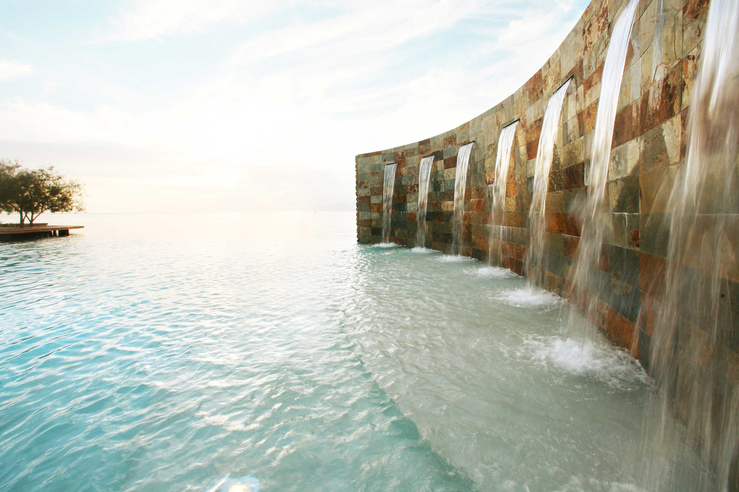 Luxury Pool Scenic views water sky Nature River Sea vehicle waterway