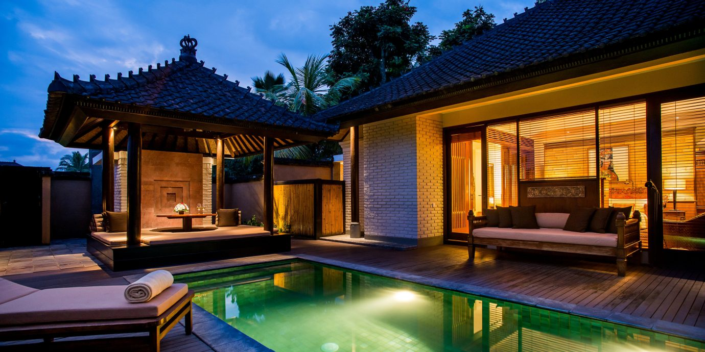 Luxury Pool Villa swimming pool property building house Resort home mansion backyard cottage eco hotel
