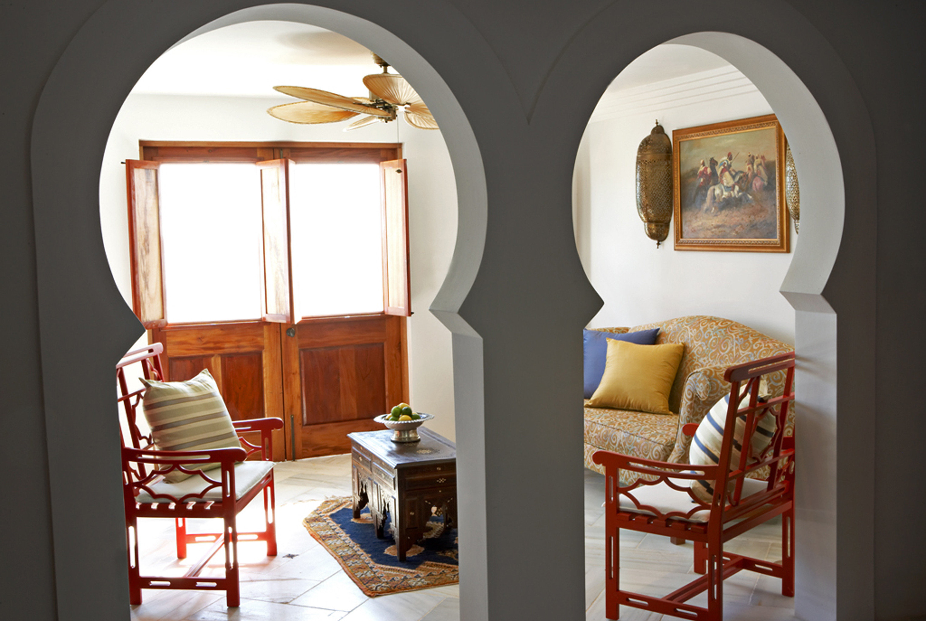 Luxury Resort chair property house home living room cottage arch Suite farmhouse