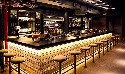 Trip Ideas floor indoor Bar ceiling restaurant recreation room café table area several