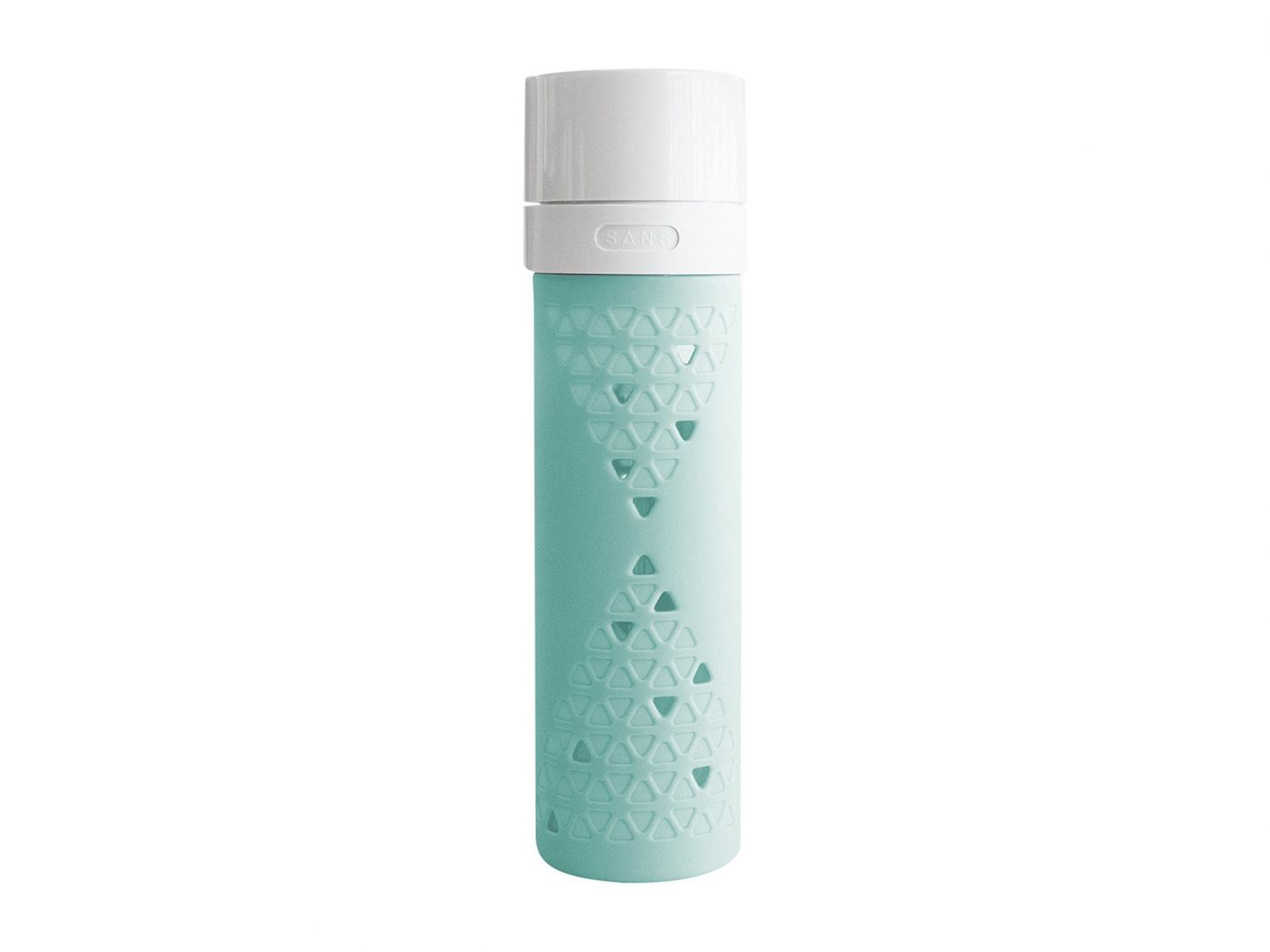 Style + Design water bottle product bottle product design liquid turquoise