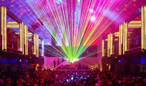 Jetsetter Guides nightclub disco stage music venue Party musical theatre crowd