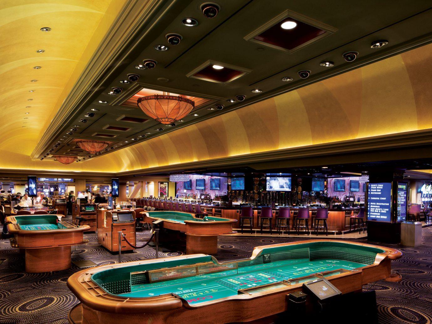 Budget ceiling indoor recreation room billiard room Casino interior design vehicle games several