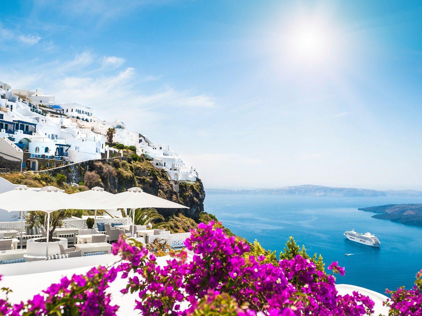 Trip Ideas sky flower outdoor Nature vacation mountain tourism Sea mountain range Coast Resort